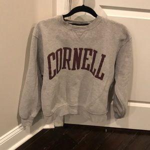 Tops - Cornell crew cut sweatshirt size M